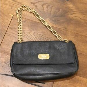 Black Michael Kors leather purse